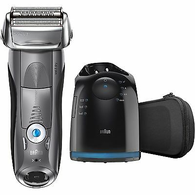 Braun Series 7 7865cc Wet & Dry Electric Shaver for Men with Clean & Charge S...