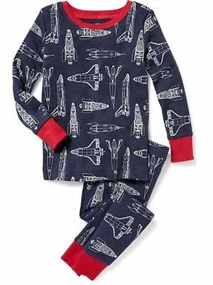 NWT Boys Old Navy planes Pajamas PJs 2 piece size 2T 3T 4T 5T 12 18 24 MONTHS