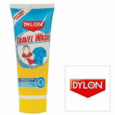 DYLON TRAVEL WASH FABRIC CARE - 75ml - FREE DELIVERY - SUITABLE FOR HAND LUGGAGE