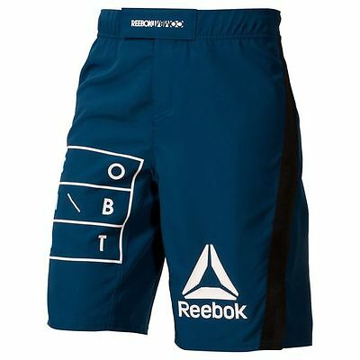 Reebok RNF Noble Blue MMA Short official UFC shorts $65