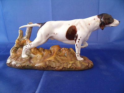 Royal Doulton Large POINTER ON BASE (Style One) HN 2624 issued 1952-85 Perfect