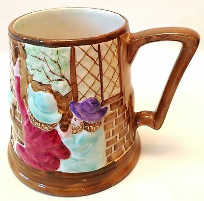 H J  WOOD BUSLEM COTTAGE WARE TYPE MUG 10.5cm