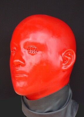 "Latexmaske "" Red Staar hole eyes "" Mask Maske Rubber Latex Maske"