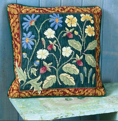 RARE EHRMAN MAYTIME CANDACE BAHOUTH needlepoint completed tapestry VINTAGE