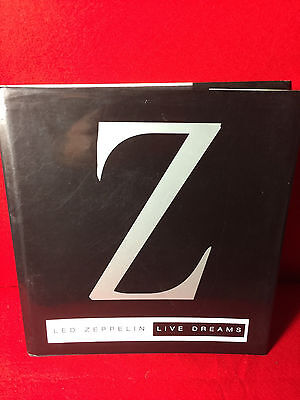 Led Zeppelin: Live Dreams Hardcover Book  Laurance Ratner EX Cond