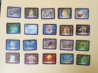 Pokemon Stadium Action Hologram 3D'S Card Action MIXED LOT of 20 -  #2