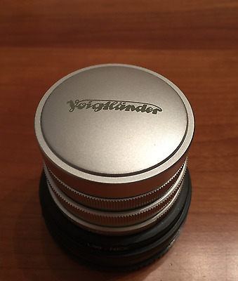 Voigtlander 15mm Heliar f4.5 LTM (Leica Thread Mount)