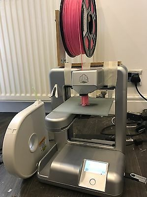 CUBIFY CUBE PLASTIC 3D SYSTEMS PRINTER 2nd Generation ABS PLA Cost £900