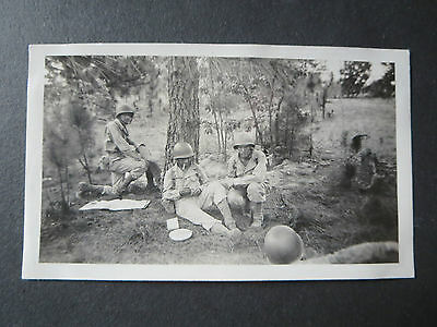 "Original Ww2   Soldiers Personal Photographs  1943 ""camp Gordon""   #19"