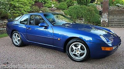 1992 Porsche 968 3.0 Coupe 6 Sp Manual 27 Stamp Service Record- Very Special Car