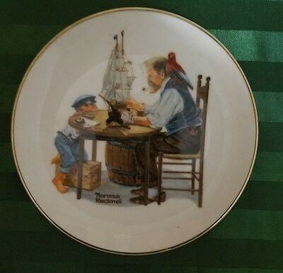 The Cobbler Norman Rockwell dish