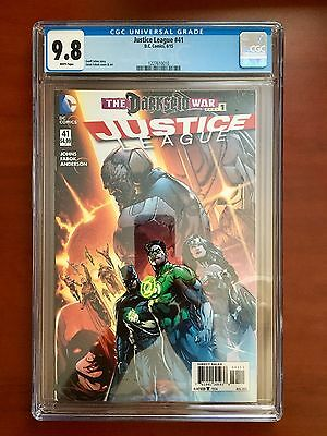 Justice League #41 ~ Cgc 9.8 ~ 1St Full Appearance Grail (Darkseid's Daughter)!