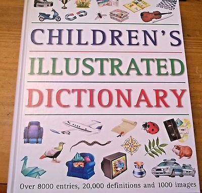 Children's Illustrated Dictionary, over 8000 Entries, Hardback, 1999