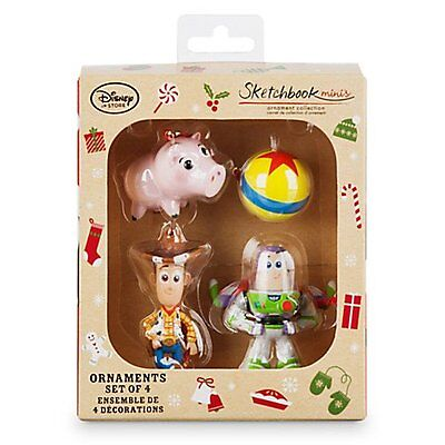 Toy Story Sketchbook Minis Ornament Set - Christmas