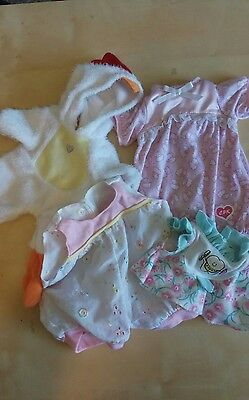 Cabbage Patch Kids Clothes Lot Vintage & Modern Baby Infant Chicken All Sizes