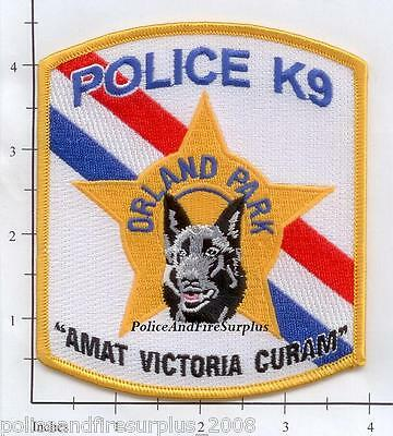 Illinois - Orland Park IL K-9 Police Dept Patch
