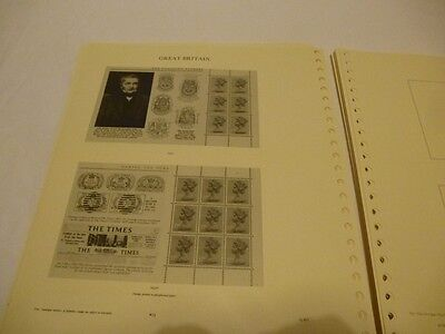 Stanley Gibbons Windsor Great Britain Album Leaves Machin 1971-90,excellent Cond
