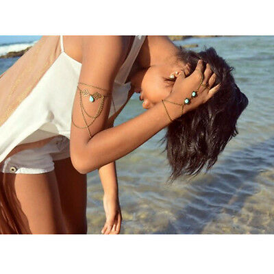 Slave Necklace Harness Pendant Bikini Tassel Jewelry Shoulder Arm Body Chain