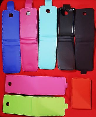 2 PEZZI X CUSTODIA COVER FLIP verticale mix X LG Optimus L3 2 DUE/seconda versio