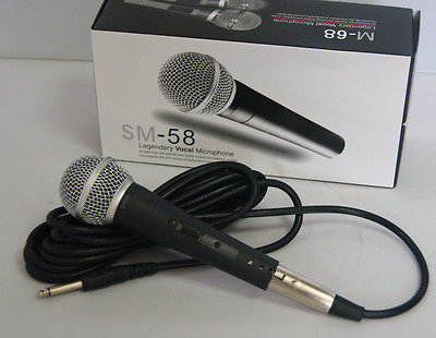 WEISRE M - 58 Unidirectional Profesional Cardioid Condenser Microphone - BLACK