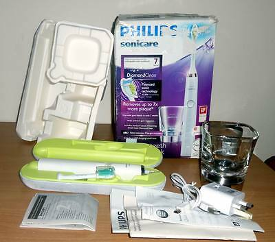 Philips Sonicare DiamondClean HX9331/04 Electric Toothbrush - White Edition