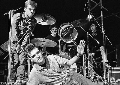 """The Smiths Posing On a Stage London 1984 Poster  23.5"""" x 33"""" UK import"""