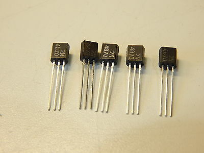 2N4870 Silicon Unijunction 30V 0.3W To-92 Transistor - You Get 5 Pieces