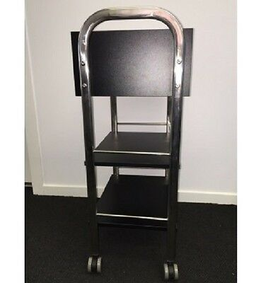 Trolley Beauty Therapist Hairdressing Wholesale Black Organization 3 Tier Drawer