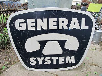 Large Vintage General Systems Telephone Gte