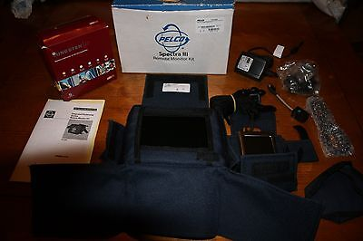 Pelco spectra iii Remote Monitor Kit - never used in box with all accessories