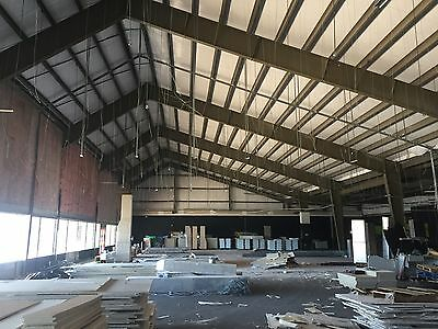 Metal building components 70 x 125 (8,750)  sq ft must contact  before bid t