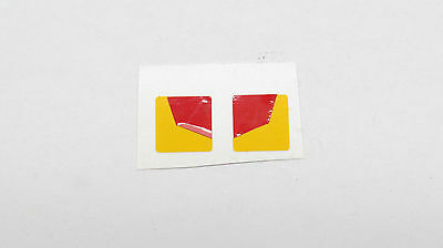 DECAL  Rear Warning Signs suit 1/50 Scale