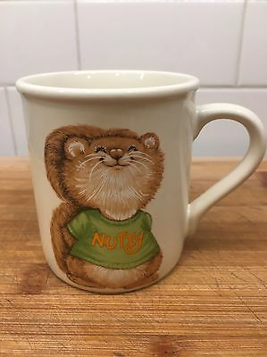 SHIRT TALES Mug SQUIRREL Nutty Nice VINTAGE HALLMARK Coffee Mug Tea Mug