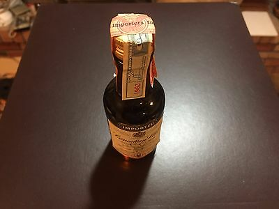 Vintage Canadian Club Miniature American Airlines 1960 Tax Stamp Unopened Empty