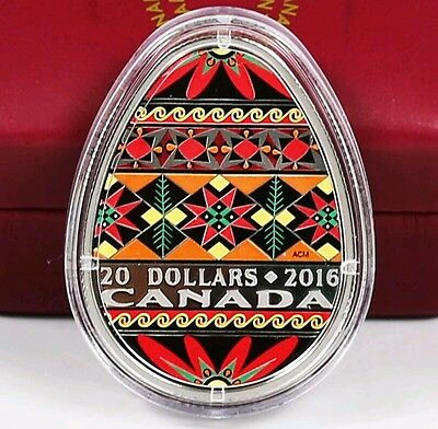 2016 and 2017 1 oz.  Fine Silver – Ukrainian Pysanka – Mintage: 4000