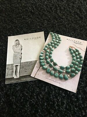 Lot of 2 Silpada 2014 and Spring 2016 Catalog's Like New/Have rep stickers