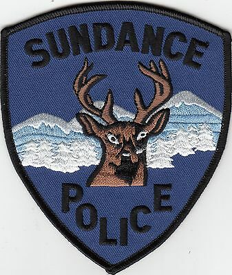 Sundance Police Shoulder Patch Wyoming Wy