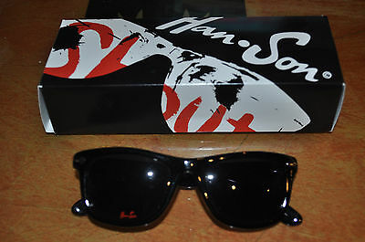 RARE Hanson Tayfarer Sunglasses with box!