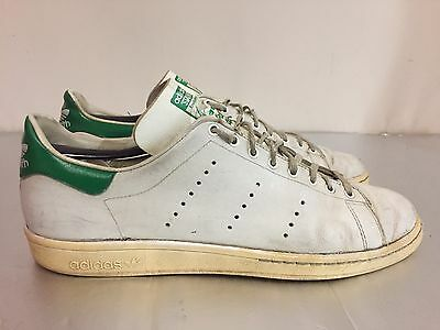Vintage 80's Adidas Stan Smith Tennis Shoes Sz 11 Made In France