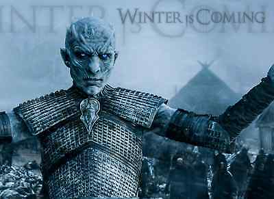 Unofficial Game of Thrones WHITE WALKER (4) *Glossy A4 print Poster - Jon Snow