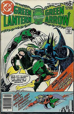 GREEN LANTERN #108  Sep 1978 with Green Arrow