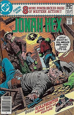 JONAH HEX #40  Sep 1980