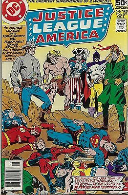 JUSTICE LEAGUE OF AMERICA #159  Oct 1978