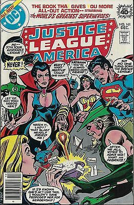 JUSTICE LEAGUE OF AMERICA #161  Dec 1978