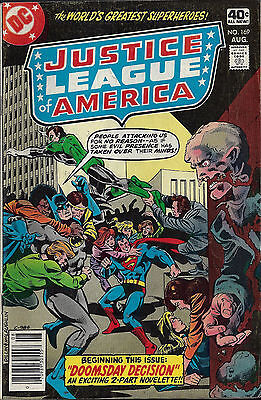 JUSTICE LEAGUE OF AMERICA #169 Aug 1979