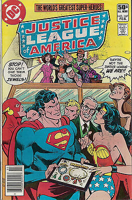 JUSTICE LEAGUE OF AMERICA #187  Feb 1981