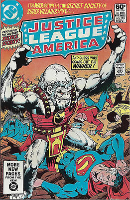 JUSTICE LEAGUE OF AMERICA #196  Nov 1981