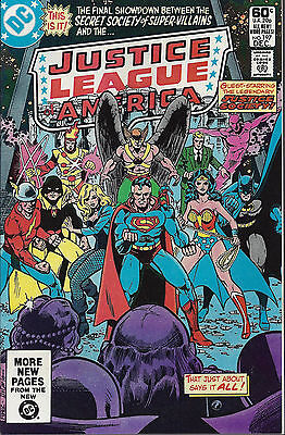 JUSTICE LEAGUE OF AMERICA #197  Dec 1981