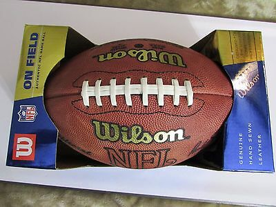 1990's NFL Official Wilson Authentic Game Ball-Tagliabue Commissioner with Box!