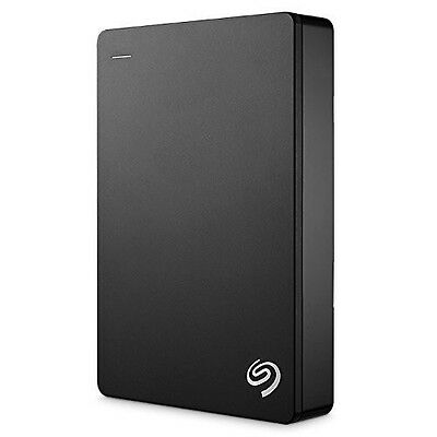 """New Seagate 5TB 2.5"""" Backup Plus Portable USB 3.0 External HDD Silver"""